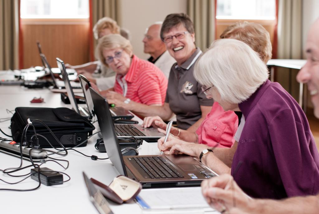 Workshop mit Senioren zu der Entwicklung eines sozialen Netzwerkes / Foto: Das Foto wurde von der Agentur Dreimorgen zur Verfügung gestellt