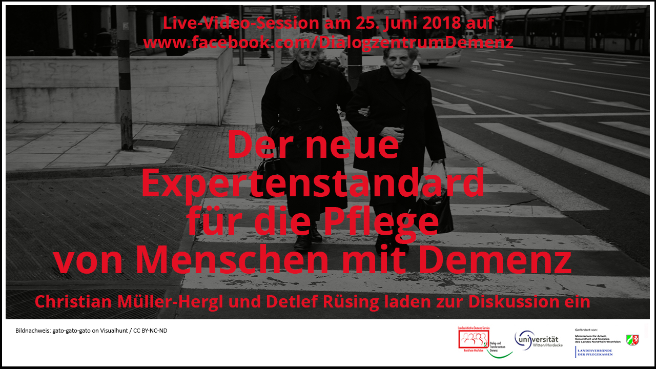 Demenzstandard Live Session Facebook Thumbnail